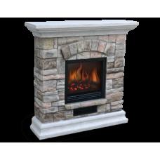 Камин с декоративным порталом (комплект) Electrolux EFP/S- 2018SBR светлый камень