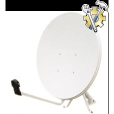 Установка системы спутникового телевидения (тарелка 60см)