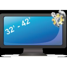 Установка телевизора (подвес и настройка) от 32 до 42 дюйма